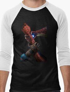 The Three Hand Of Hero War Civil  Men's Baseball ¾ T-Shirt