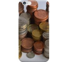 coins iPhone Case/Skin