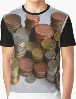 coins Graphic T-Shirt