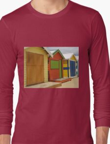 Multiple Beach Boxes Long Sleeve T-Shirt