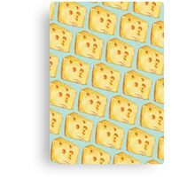 Cheese Pattern Canvas Print
