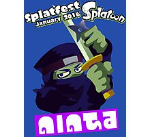Splatfest Team Ninja v.3 Photographic Print