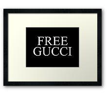 Free gucci Framed Print