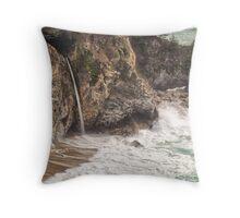 McWay Falls - Big Sur - California USA Throw Pillow