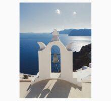 Santorini. Church Bell Kids Tee