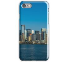Manhattan view from Hudson iPhone Case/Skin