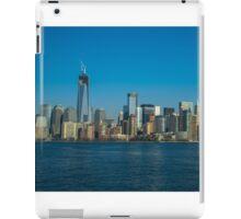 Manhattan view from Hudson iPad Case/Skin