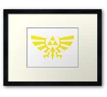 Zelda Triforce Framed Print