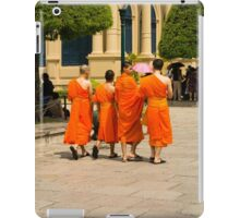 Thailand. Monks at the Grand Palace iPad Case/Skin