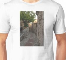 France. Town Alleyways. Éze Unisex T-Shirt