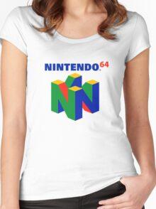 Nintendo 64 Women's Fitted Scoop T-Shirt