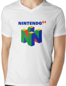Nintendo 64 Mens V-Neck T-Shirt