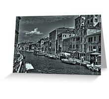 grand channel Venice Greeting Card