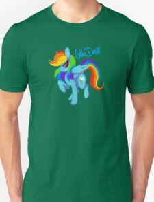 """Rainbow Dash """"Gotta dash!"""" Unisex T-Shirt"""