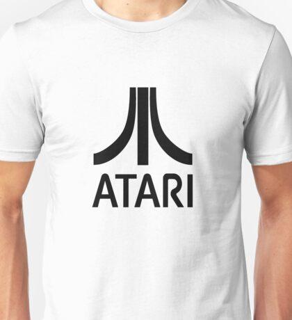 Atari Black Unisex T-Shirt