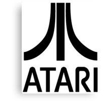 Atari Black Canvas Print