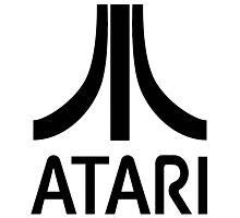 Atari Black Photographic Print