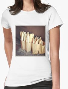 Bags of Baguettes - Bread Womens Fitted T-Shirt