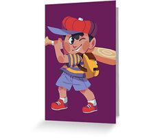 Ness Sticker Greeting Card