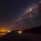 Milky Way over Noosa North Shore by Sam Frysteen