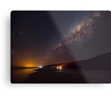 Milky Way over Noosa North Shore Metal Print
