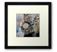 Grape and Fire Agate Framed Print