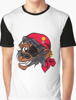 Monkey Pirate Graphic T-Shirt