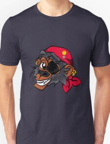 Monkey Pirate Unisex T-Shirt