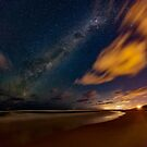 Milky Way over Sunshine Beach by Sam Frysteen