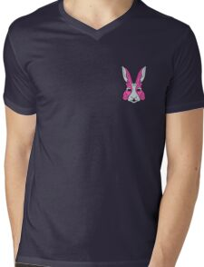 Rabbit 1 Mens V-Neck T-Shirt