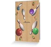 Abide 2 Greeting Card