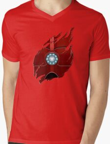 Red Body Armor Mens V-Neck T-Shirt