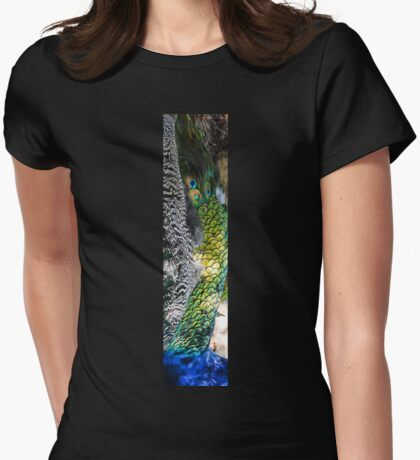 Nature is the best painter Womens Fitted T-Shirt