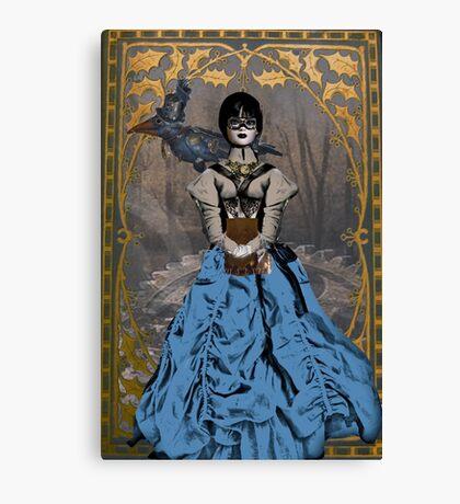 Steam Punk Raven Canvas Print