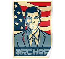 Sterling Archer America Poster