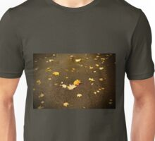 Maple leaves in autumn Unisex T-Shirt
