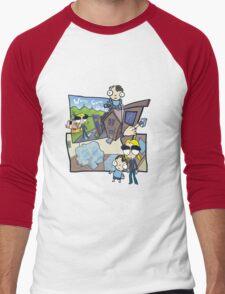 Esmeralda & the Boy Next Door Men's Baseball ¾ T-Shirt