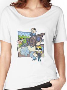 Esmeralda & the Boy Next Door Women's Relaxed Fit T-Shirt