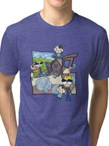 Esmeralda & the Boy Next Door Tri-blend T-Shirt