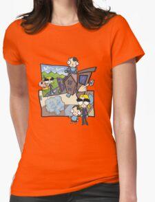Esmeralda & the Boy Next Door Womens Fitted T-Shirt