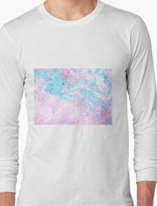 Paper marbling Long Sleeve T-Shirt