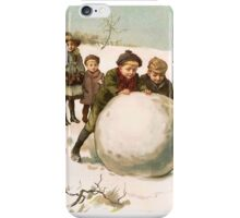 Victorian Christmas iPhone Case/Skin