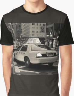 New York city taxi Graphic T-Shirt