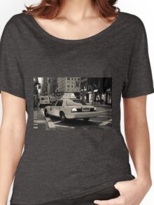 New York city taxi Women's Relaxed Fit T-Shirt