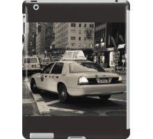 New York city taxi iPad Case/Skin