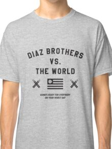 Diaz Brothers Nick And Nate VS. The World Classic T-Shirt