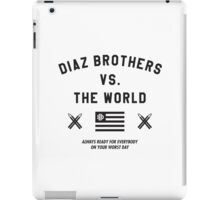 Diaz Brothers Nick And Nate VS. The World iPad Case/Skin