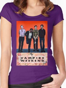 vampire weekend  Women's Fitted Scoop T-Shirt