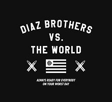 Diaz Brothers Nick And Nate VS. The World Unisex T-Shirt