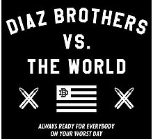 Diaz Brothers Nick And Nate VS. The World Photographic Print